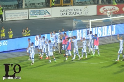 Pescara Calcio sotto la curva