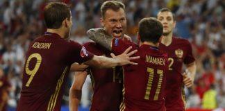 Euro 2016, la Russia ferma l'Inghilterra al 91':1-1 a Marsiglia