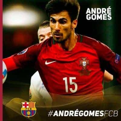 Colpo del Barcellona: preso Andrè Gomes