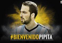 Adesso arriva anche l'ufficialità: Higuain è della Juve