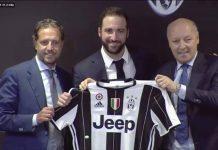 """Higuain si presenta alla Juve: """"Via dal Napoli per De Laurentiis"""""""