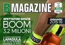 B Magazine con l'Annuario sulla Serie B 2015-16
