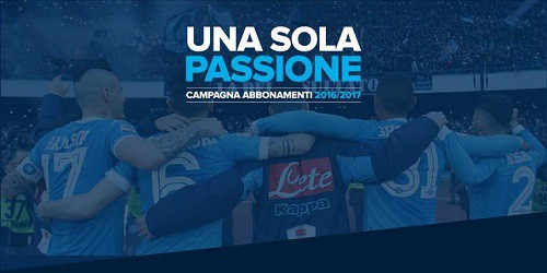 Napoli campagna abbonamenti 2016-17