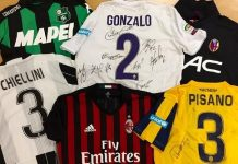 asta maglie capitani Serie A