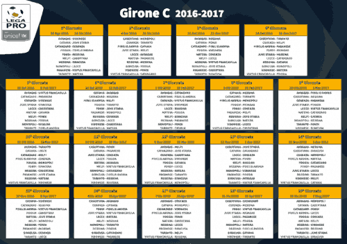 Calendario Girone C