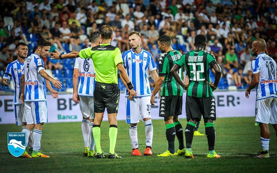 Clamoroso: il Pescara vince a Sassuolo 0-3 a tavolino!