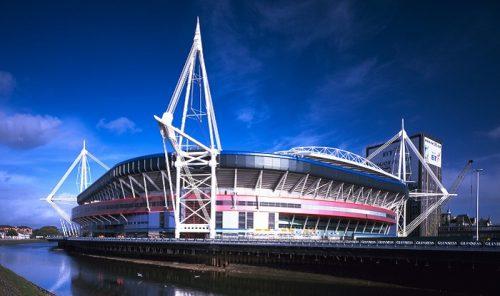 Lo stadio dove si terrà la finale: Millenium Stadium of Cardiff