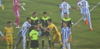 Tim Cup, Pescara-Frosinone - il tabellino