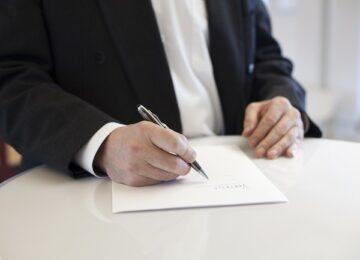 firma contratto