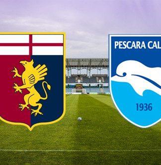 Genoa-Pescara risultato diretta