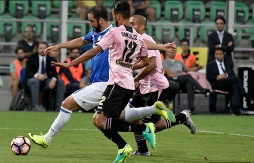 Serie A, la Juventus vince ma non brilla: 0-1 a Palermo