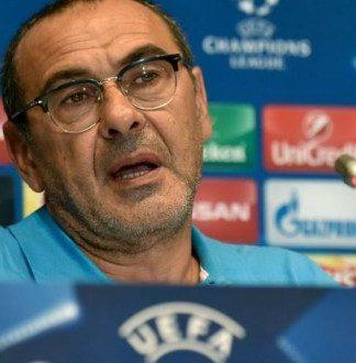"""Napoli, Sarri: """"Temo il Benfica, serve l'aiuto del San Paolo"""""""