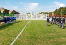 inaugurazione campo da calcio Polizia