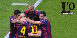 Barcellona esulta