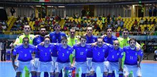 Calcio a cinque, Italia sconfitta per 2-1 dalla Croazia, oggi la rivincita