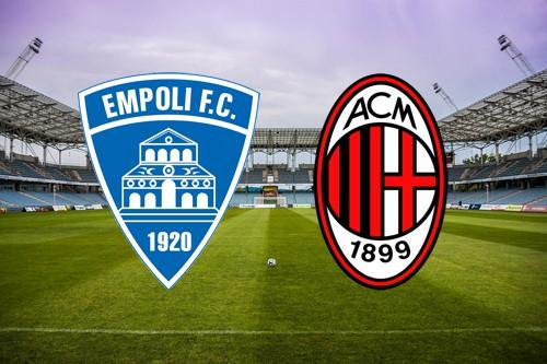 Serie A: Empoli-Milan probabili formazioni