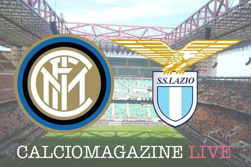 Serie A, Inter-Lazio: probabili formazioni e diretta dalle 20.45