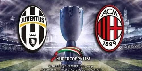 Juventus-Milan Supercoppa TIM