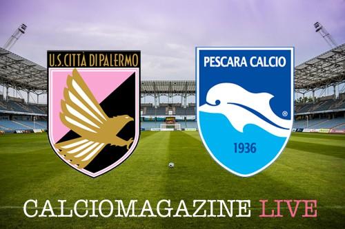 Palermo-Pescara 1-1, gli abruzzesi tengono aperta la porta salvezza