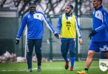 Pescara: Primo allenamento per Munta