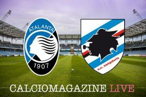 Atalanta-Sampdoria, risultato