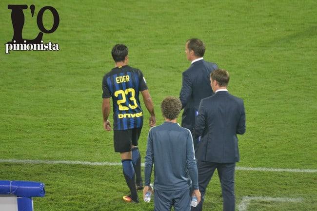 Calciomercato Inter, Eder spegne le voci: