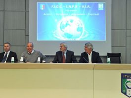 Incontro arbitri-Lega B al meeting di Coverciano