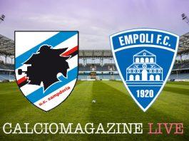 Sampdoria-Empoli, analisi tattica