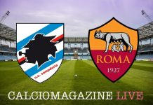 Sampdoria-Roma, analisi tattica