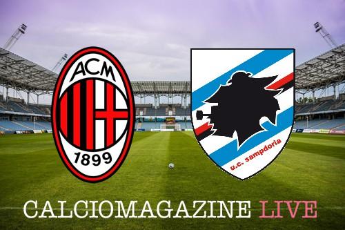 Milan-Sampdoria, analisi tattica