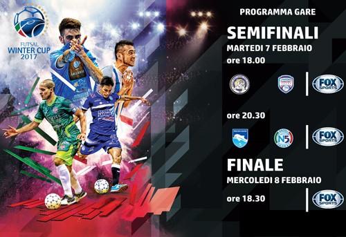 Winter Cup 2017 semifinali