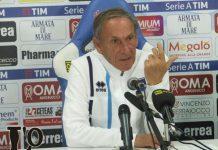 """Pescara, le parole di Zeman in vista del Chievo: """"Squadra che vince non si cambia"""""""