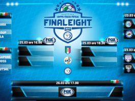 Tabellone sorteggio Final Eight C5