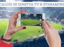 calcio diretta tv e streaming (mercoledì)