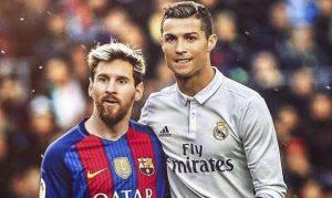 Messi guida la classifica marcatori di Liga Suarez e Ronaldo