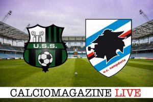 Sassuolo-Sampdoria