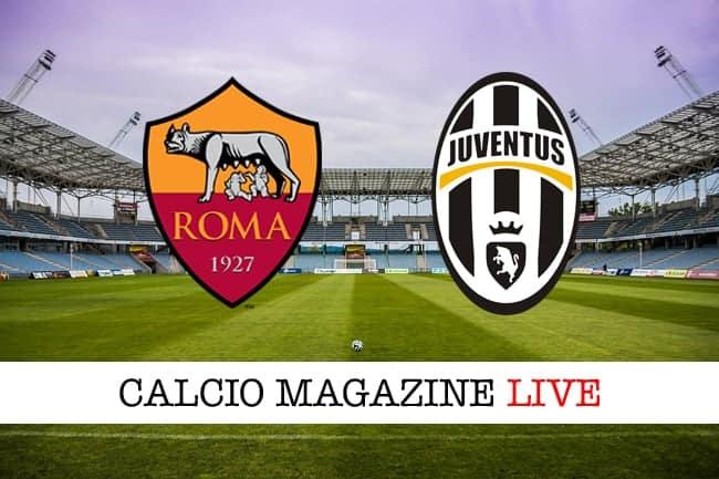 Roma Juventus, emergenza bianconera a centrocampo: probabile formazione