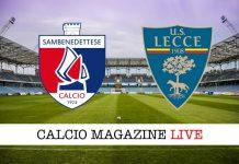 Sambenedettese-Lecce