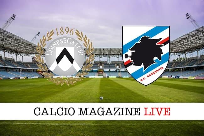 Udinese-Sampdoria 1-1: 90′ e assist per un generoso Zapata
