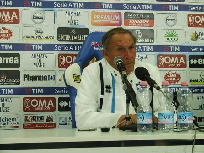 Pescara, esonerato Zeman. Fatale la sconfitta a Cittadella
