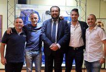 Il presidente Andrea Montemurro con i quattro protagonisti