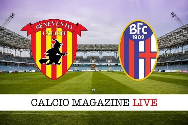 Benevento Bologna cronaca diretta live risultato in tempo reale