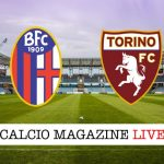 Bologna Torino cronaca diretta risultato tempo reale