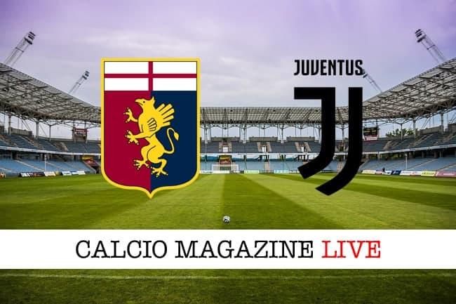 Genoa Juventus cronaca diretta live risultato in tempo reale