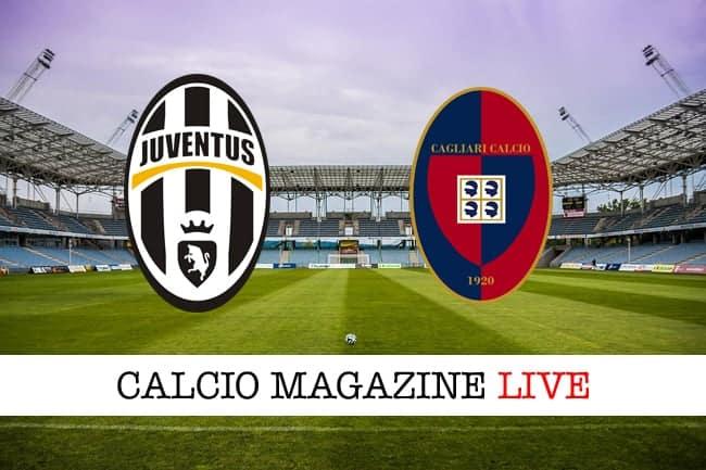 Juventus Cagliari cronaca diretta risultato tempo reale