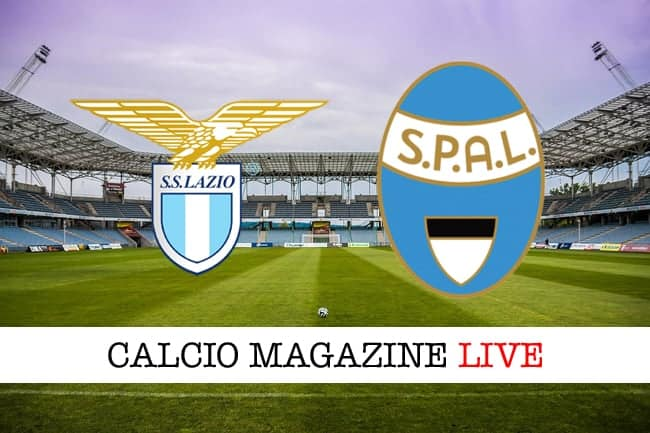 Lazio Spal cronaca diretta live risultato in tempo reale