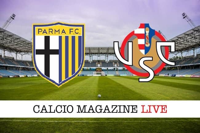 Calaiò scaglia la prima freccia. Parma-Cremonese 1-0