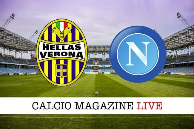 Verona-Napoli in tv, dove vedere la diretta serie A