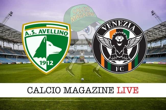 Avellino-Venezia 1-1, tabellino: la cronaca minuto per minuto