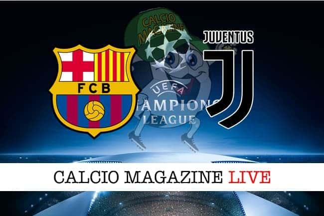 Barcellona-Juventus: cronaca e risultato in tempo reale